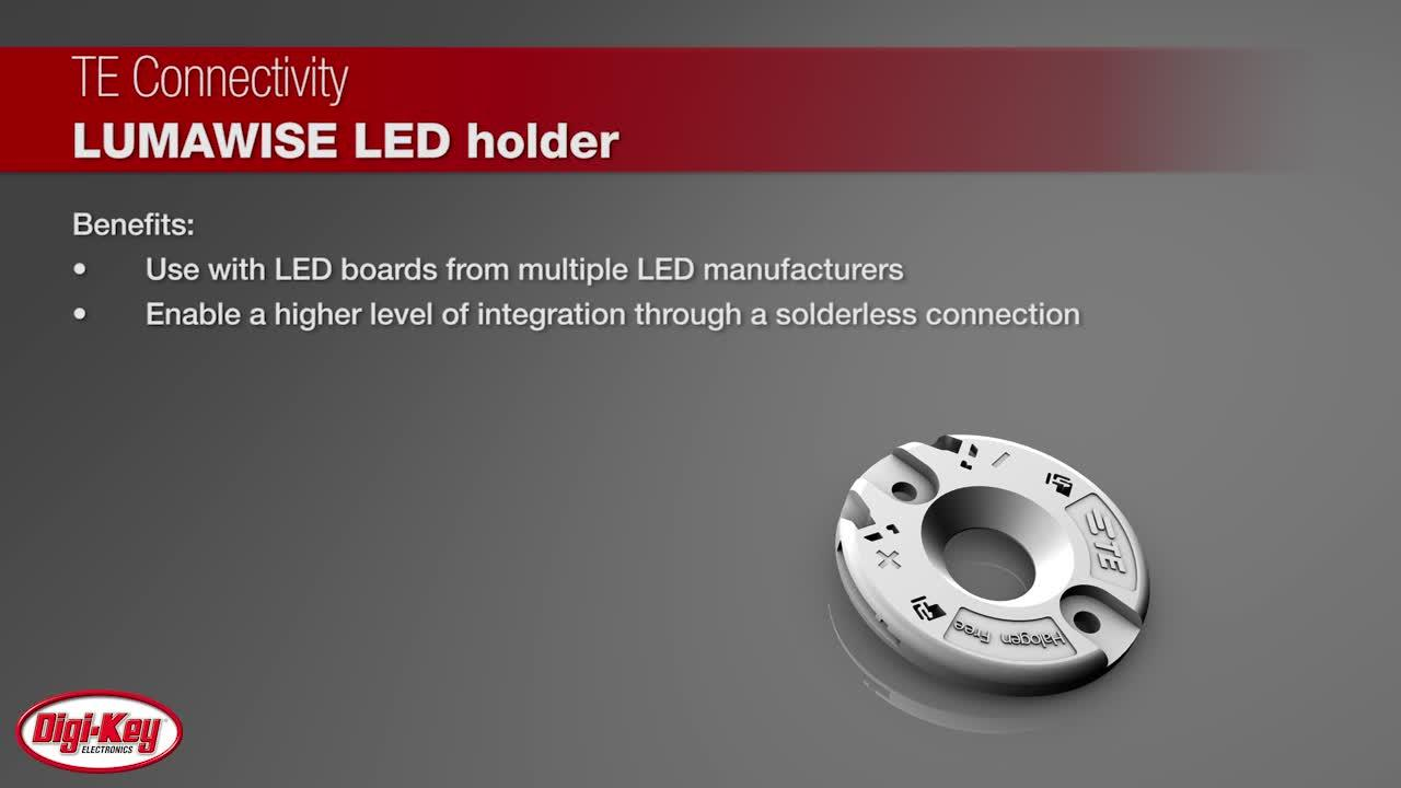 TE Connectivity LUMAWISE LED Holders Type Z35 | Digi-Key Daily