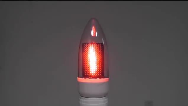 LED Simulated Candle Using IS31FL3731