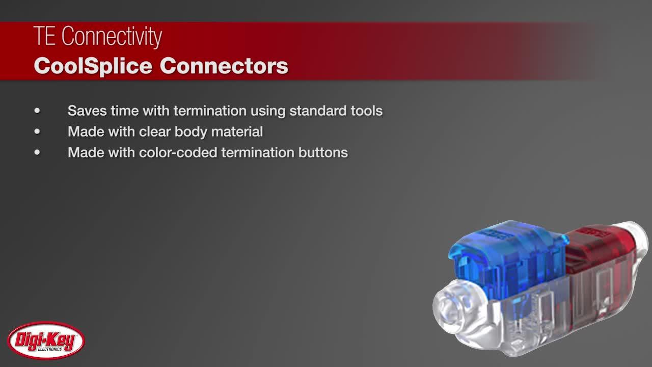 TE Connectivity Coolsplice Connectors | Digi-Key Daily