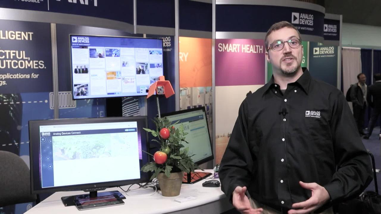 Crop Connect - Environmental Monitoring for Smart Agriculture