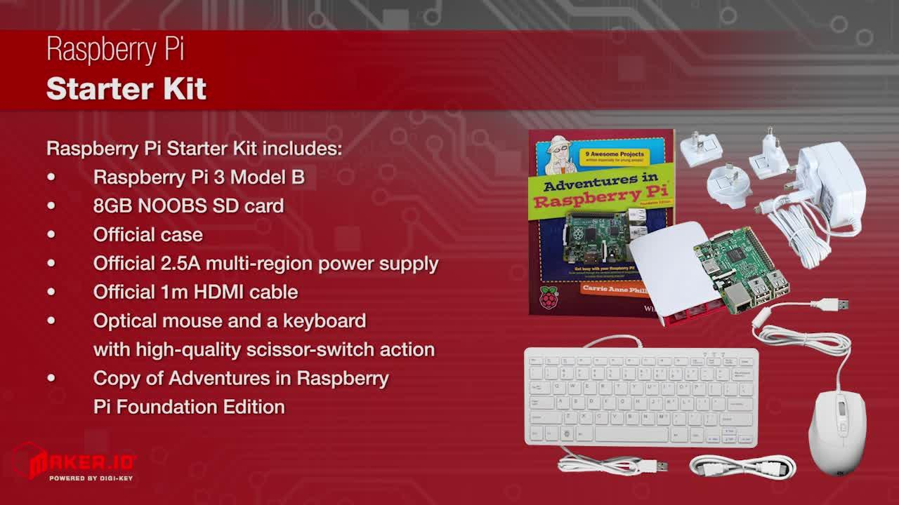 Raspberry Pi Starter Kit | Maker Minute