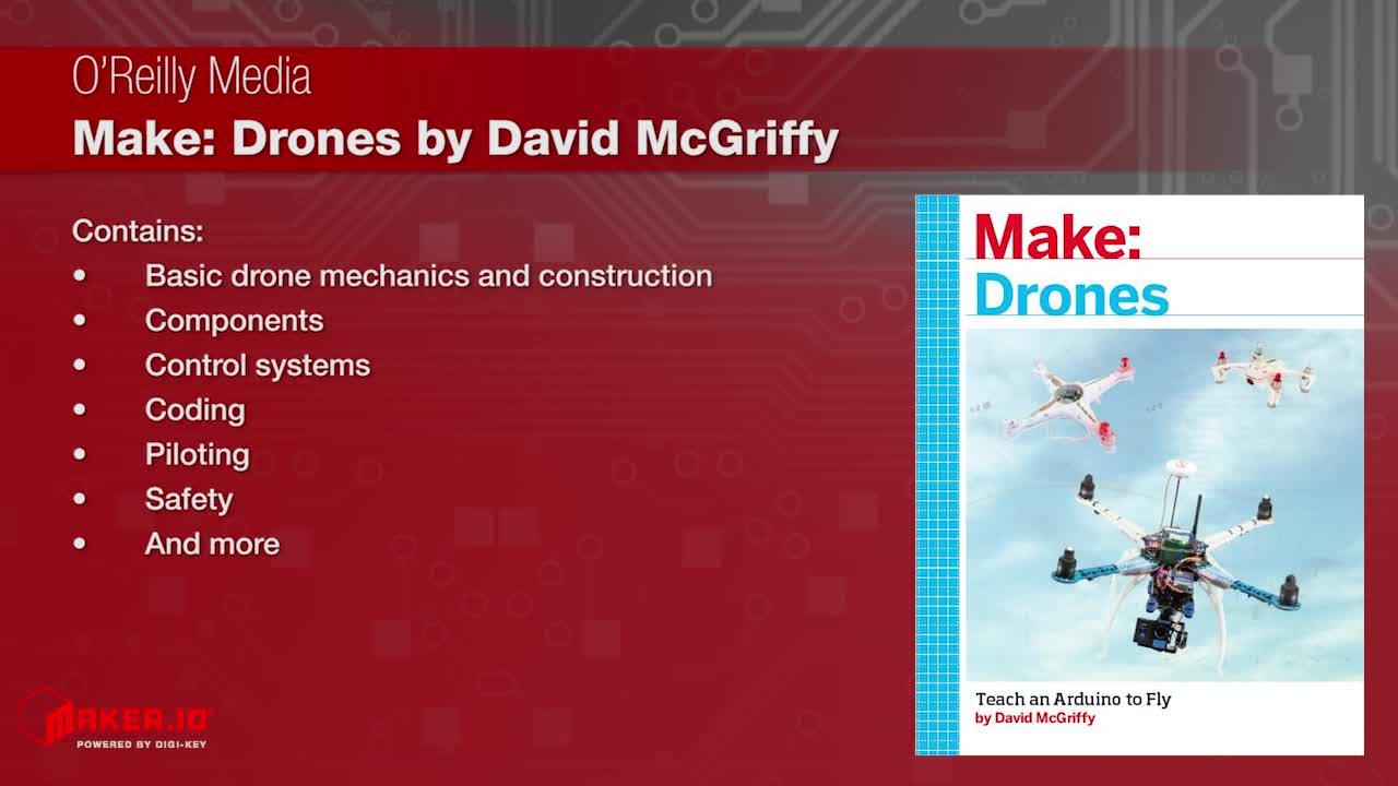 "O'Reilly Media ""Make: Drone"" by David McGriffy 