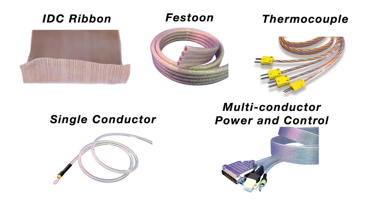Cicoil Standard Cables Overview