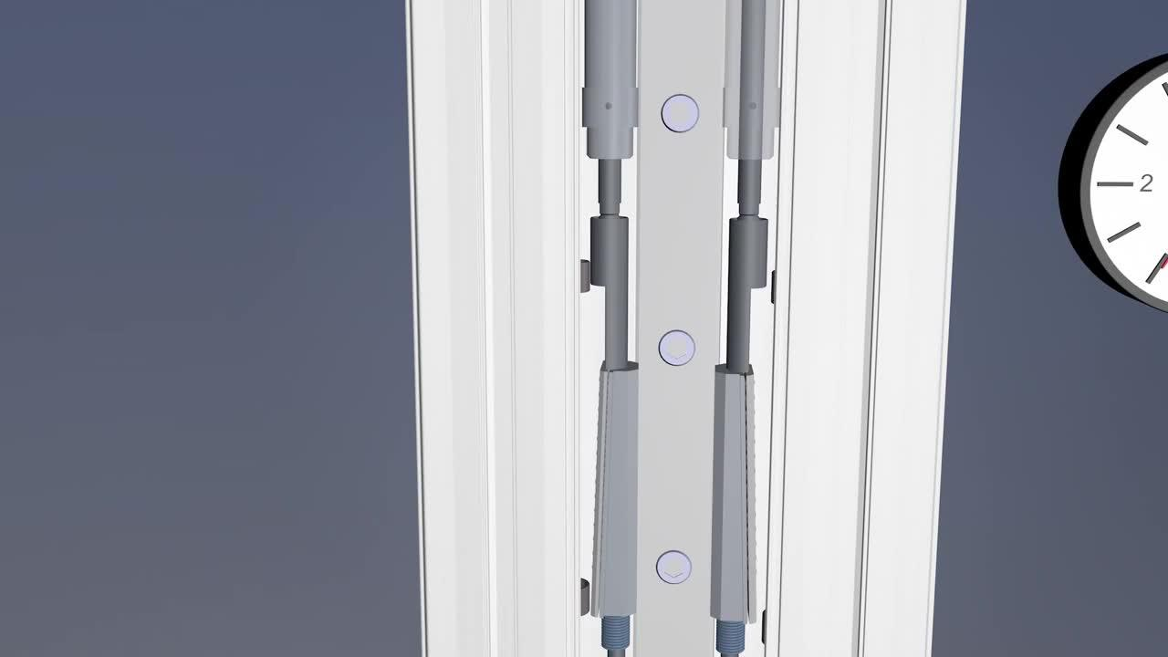 RK Safelock - vertical axes with secure locking function
