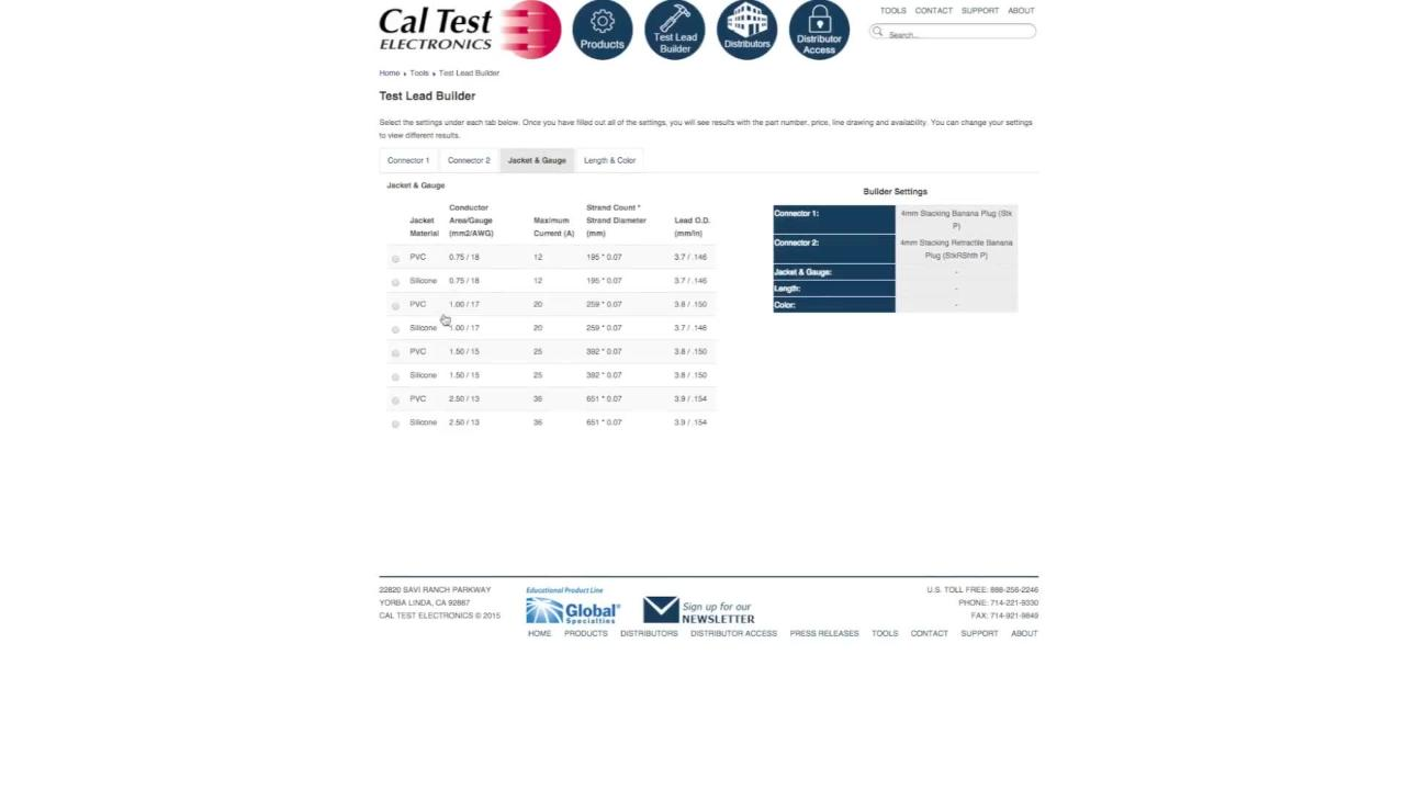 Test Lead Builder