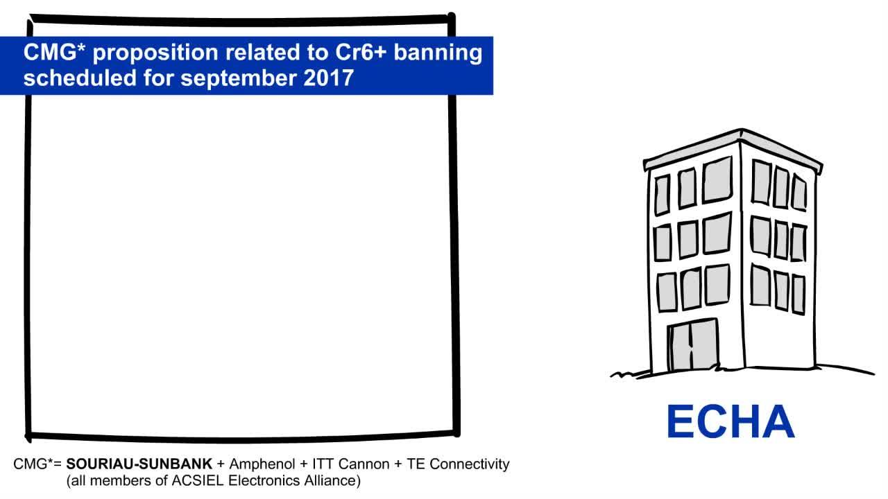Cr6+ Banning & CMG's Demand of Authorization to ECHA