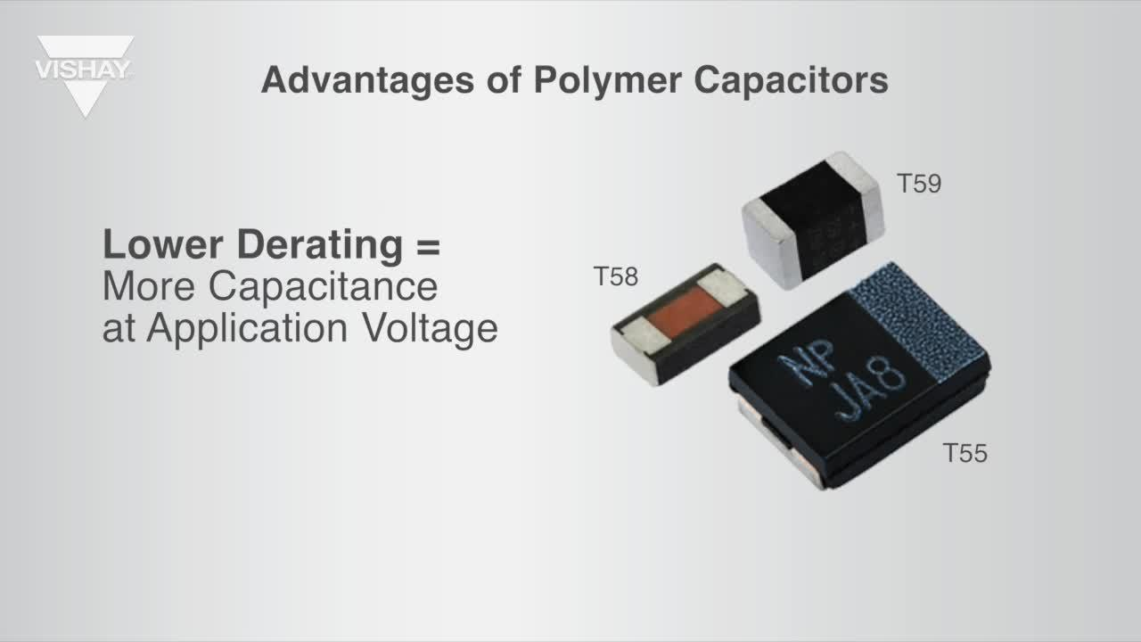 Design Advantages of Polymer Capacitors