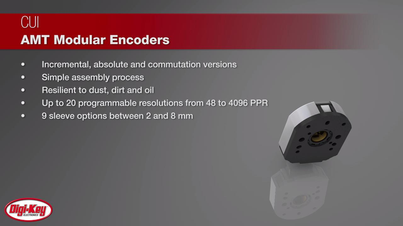 CUI Devices AMT Modular Encoders | Digi-Key Daily