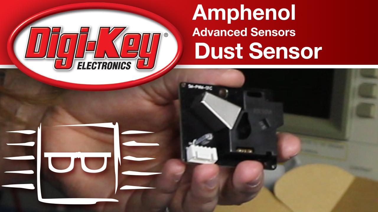 Amphenol Advanced Sensors SMART Dust Sensor | Another Geek Moment