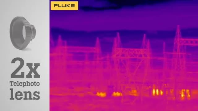 See the Impossible with the Fluke TIX560 Infrared Lenses