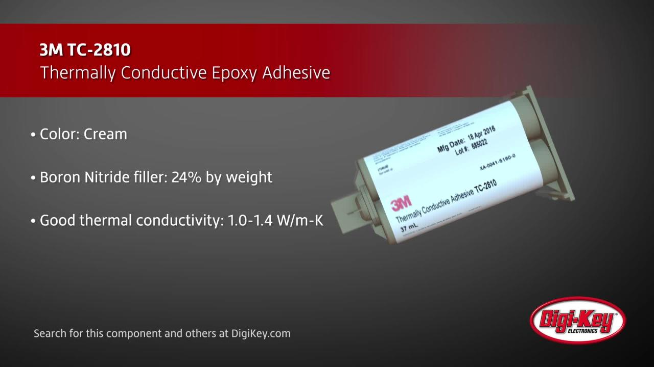 3M Thermally Conductive Adhesive | Digi-Key Daily