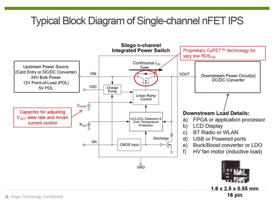 Introduction to Silego's GFET3 Integrated Power Switches