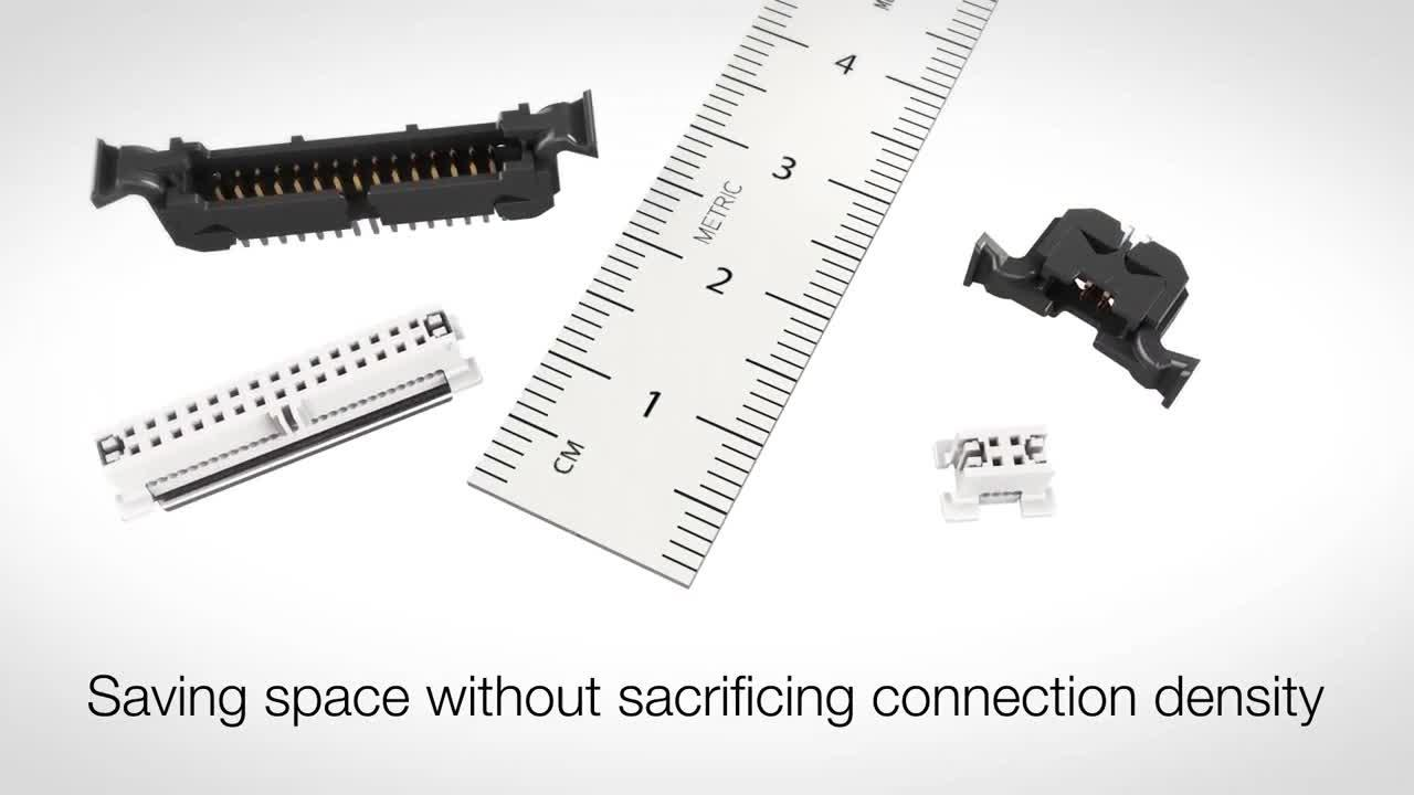 3M™ Wire-to-Board System, 450 Series Connector Animation