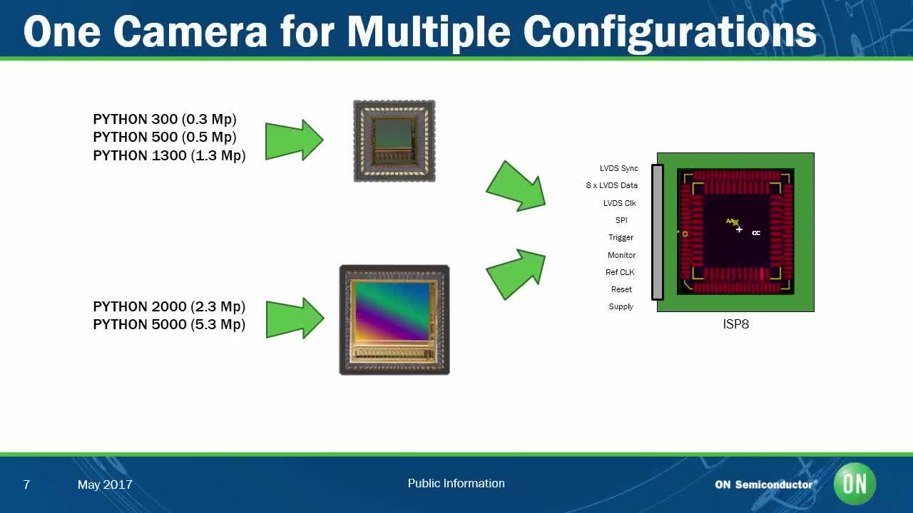 High Performance Industrial Imaging with the PYTHON CMOS Image Sensor Family
