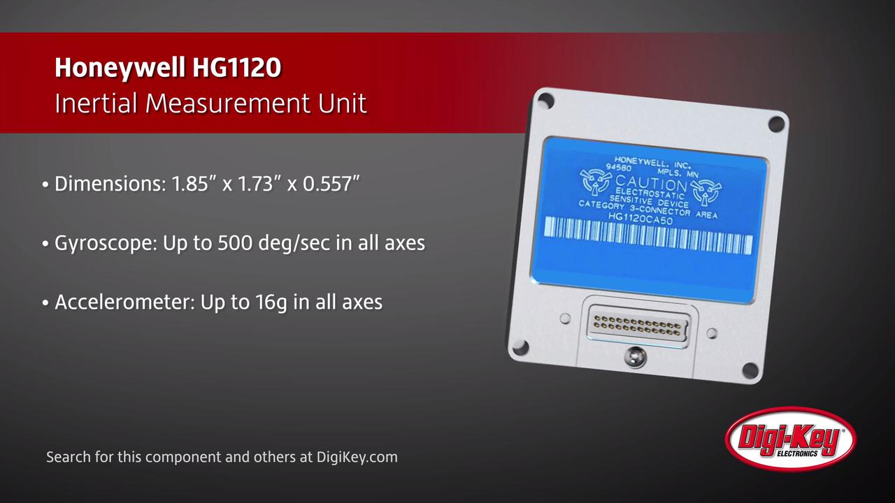 Honeywell HG1120 Inertial Measurement Unit | Digi-Key Daily