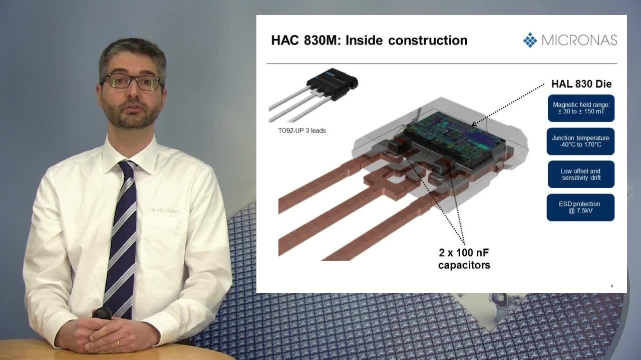 HAC 830M - EMC-proof linear Hall sensor
