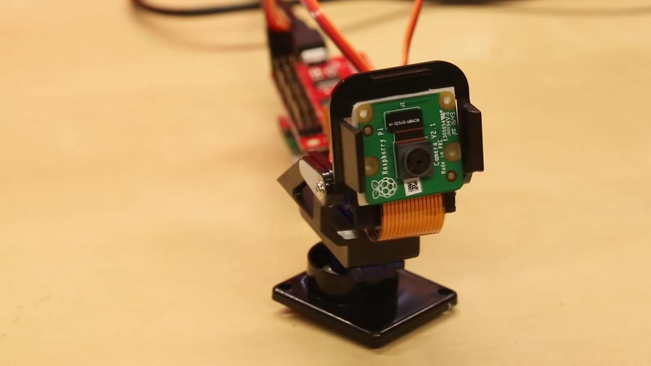 Raspberry Pi Zero W Pan/Tilt Camera Kit - Sparkfun | DigiKey