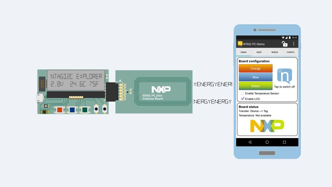NTAG I2C Plus Explorer Board