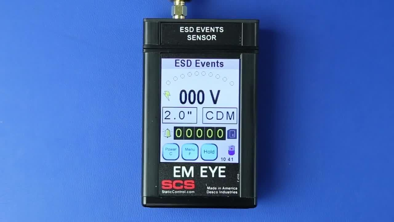 SCS EM Eye - ESD Event Meter: Product Walkthrough