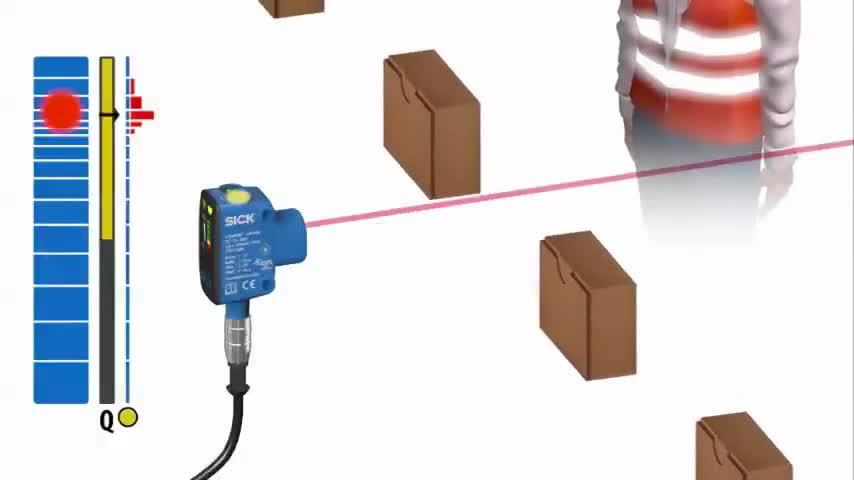 Background Suppression of SureSense Photoelectric Sensors from SICK