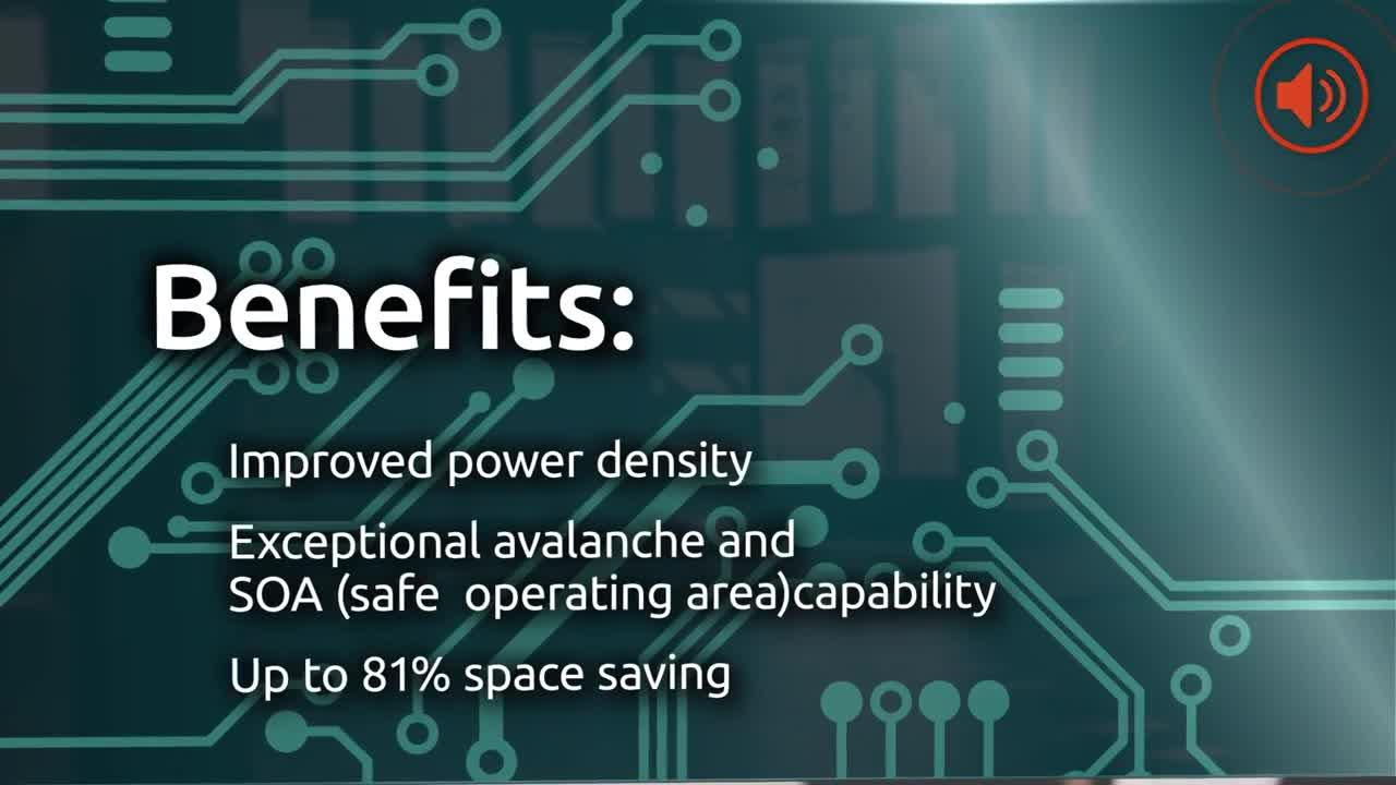 New Trench 9 automotive MOSFETs from Nexperia, with 30% reduction in RDS(on)