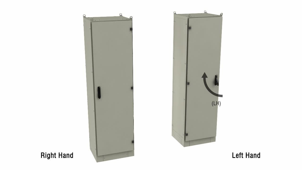 Essentra Swing handle Locks