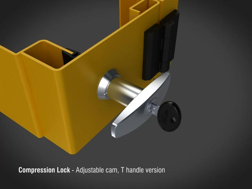 Essentra Compression Locks