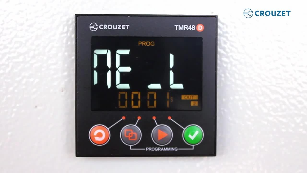 Crouzet presents: How to Program a Digital Timer Relay (Syr-line)