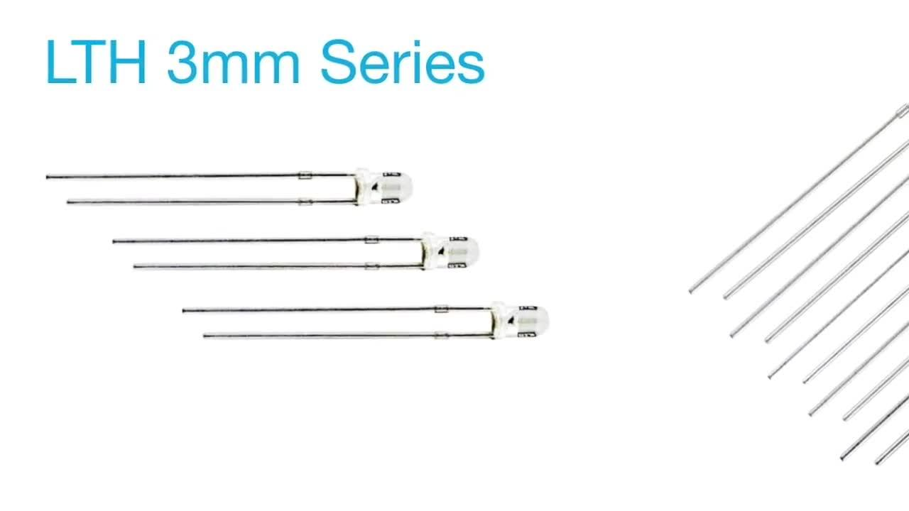 LTH Series - New Product Introduction - LED 12V with Built-in Resistor