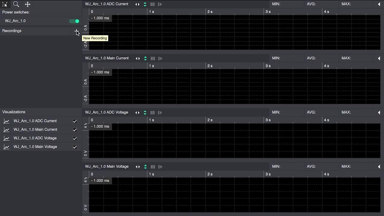 Concurrent system and subsystem power measurements with Otii