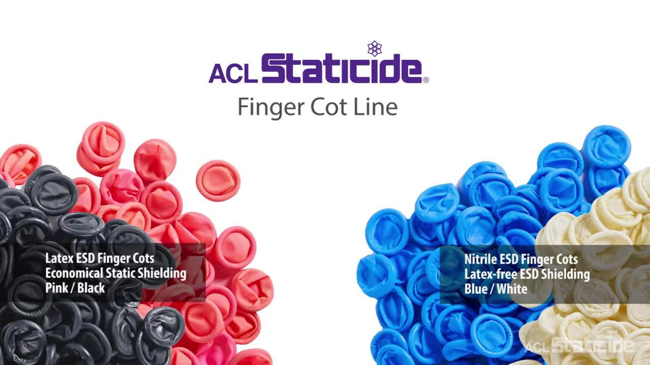 ACL Staticide® ESD Finger Cots