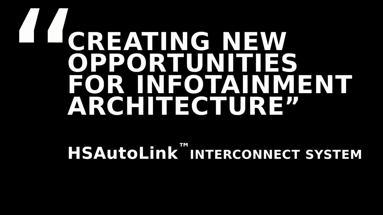 Creating New Opportunities for Infotainment Architecture