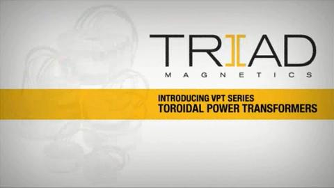 VPT Series of Toroidal Power Transformers