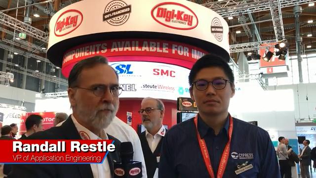Randall Restle interviews Michi Yoneda from Cypress at Embedded World 2018