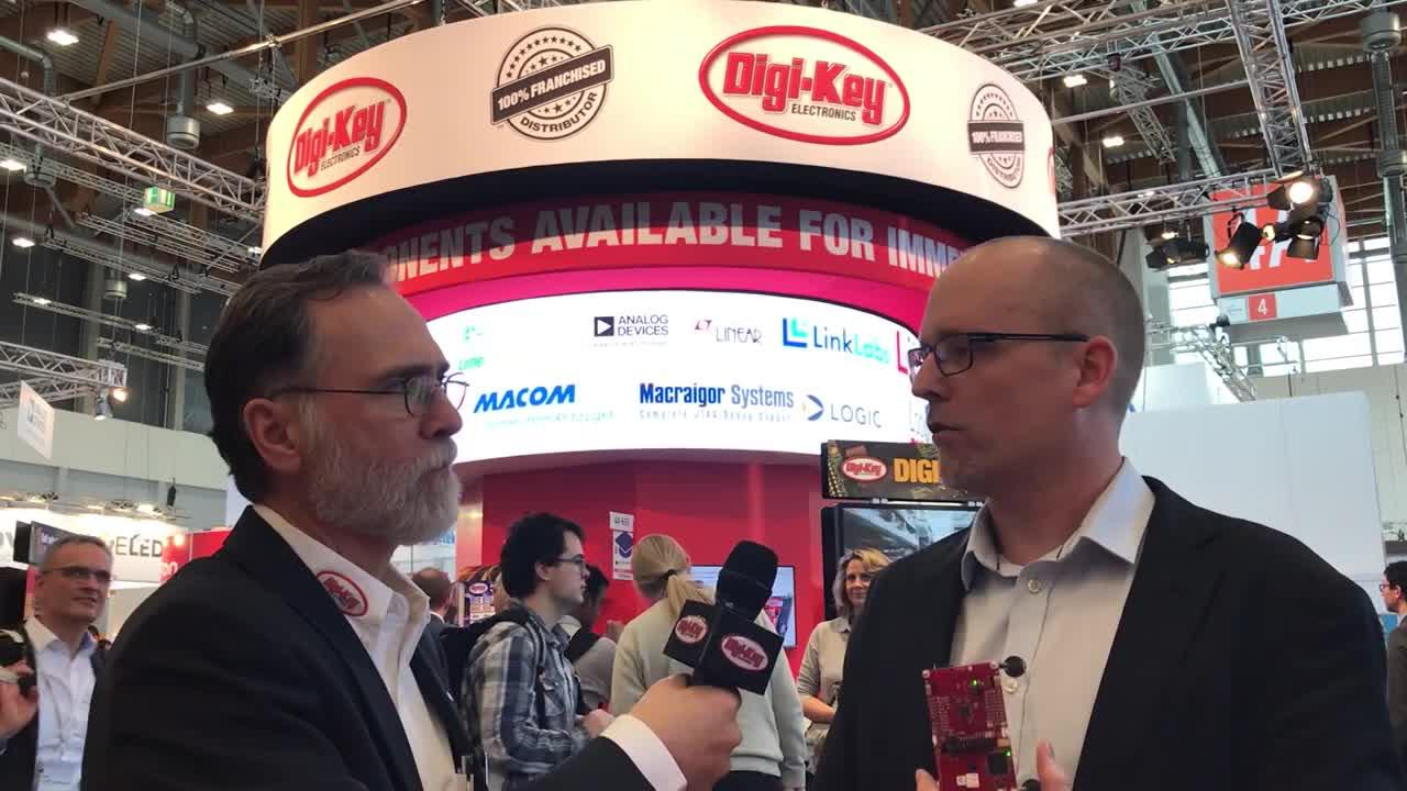 Randall Restle interviews JB Lund from Texas Instruments at Embedded World 2018