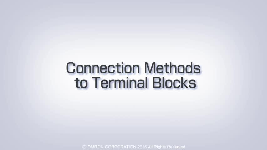 Introduction Guide To OMRON's Push-In Plus Terminal Blocks