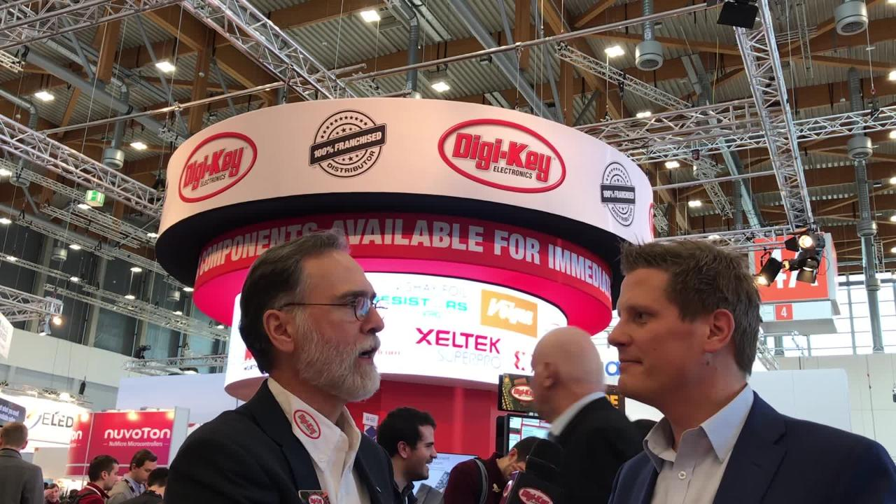 Randall Restle interviews Mikko Savolainen from Silicon Labs at Embedded World 2018