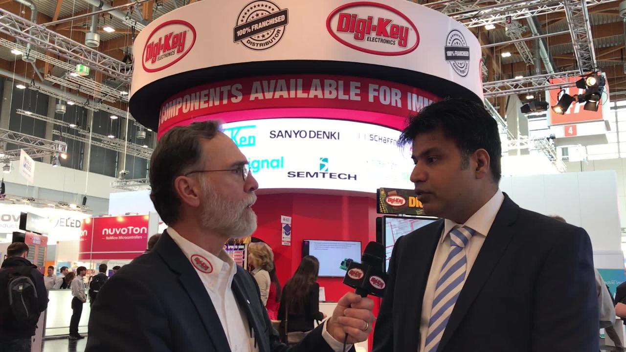 Randall Restle interviews Mo Dogar from Renesas at Embedded World 2018