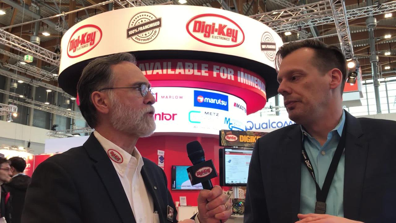 Randall Restle interviews Mike Rohrmoser from Digi at Embedded World 2018