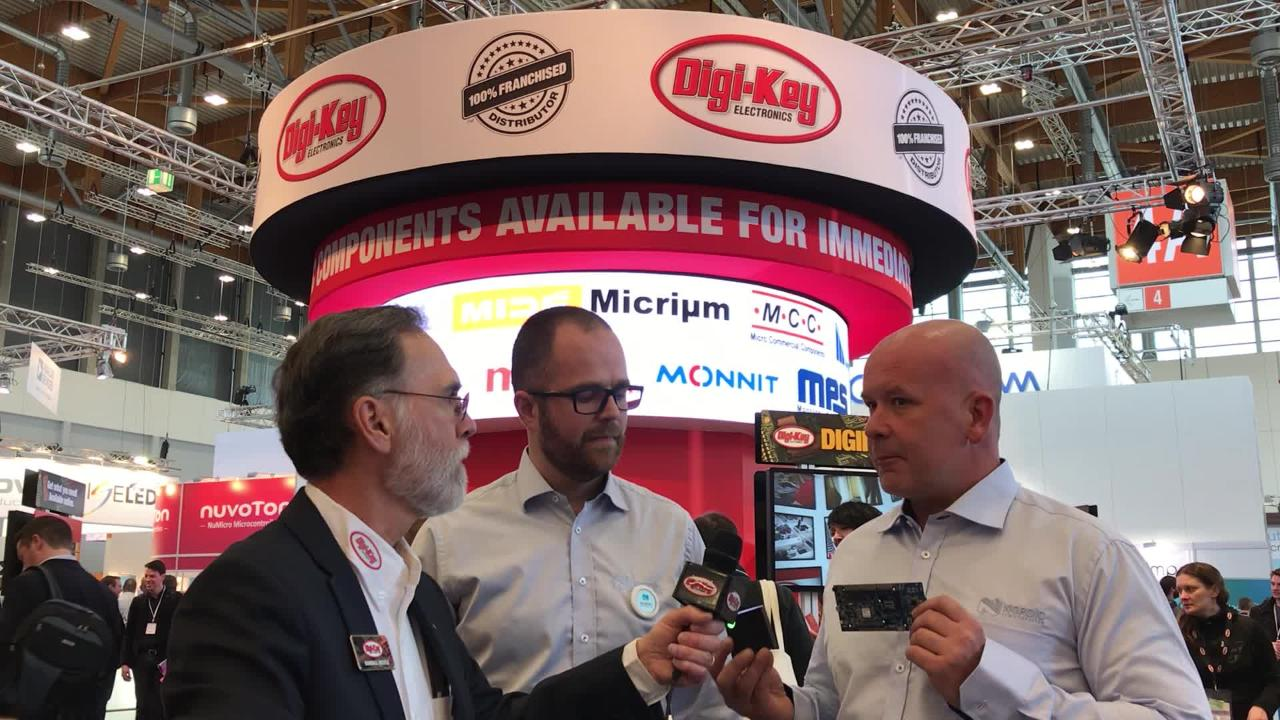 Randall Restle interviews Kjetil and John from Nordic at Embedded World 2018