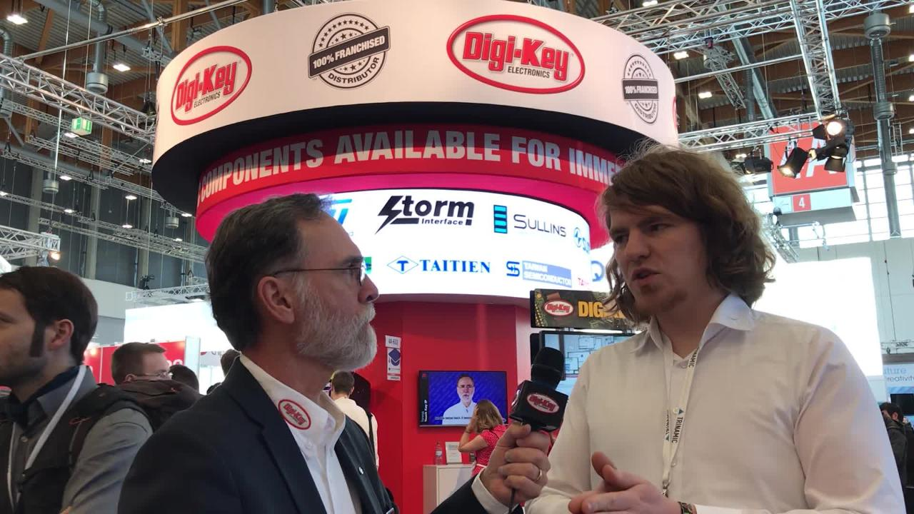 Randall Restle interviews Thomas Ernst from Trinamic at Embedded World 2018