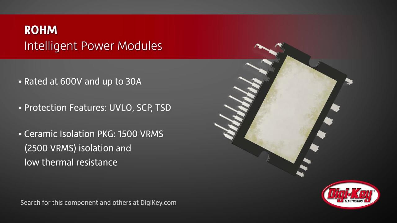 ROHM Intelligent Power Modules | Digi-Key Daily