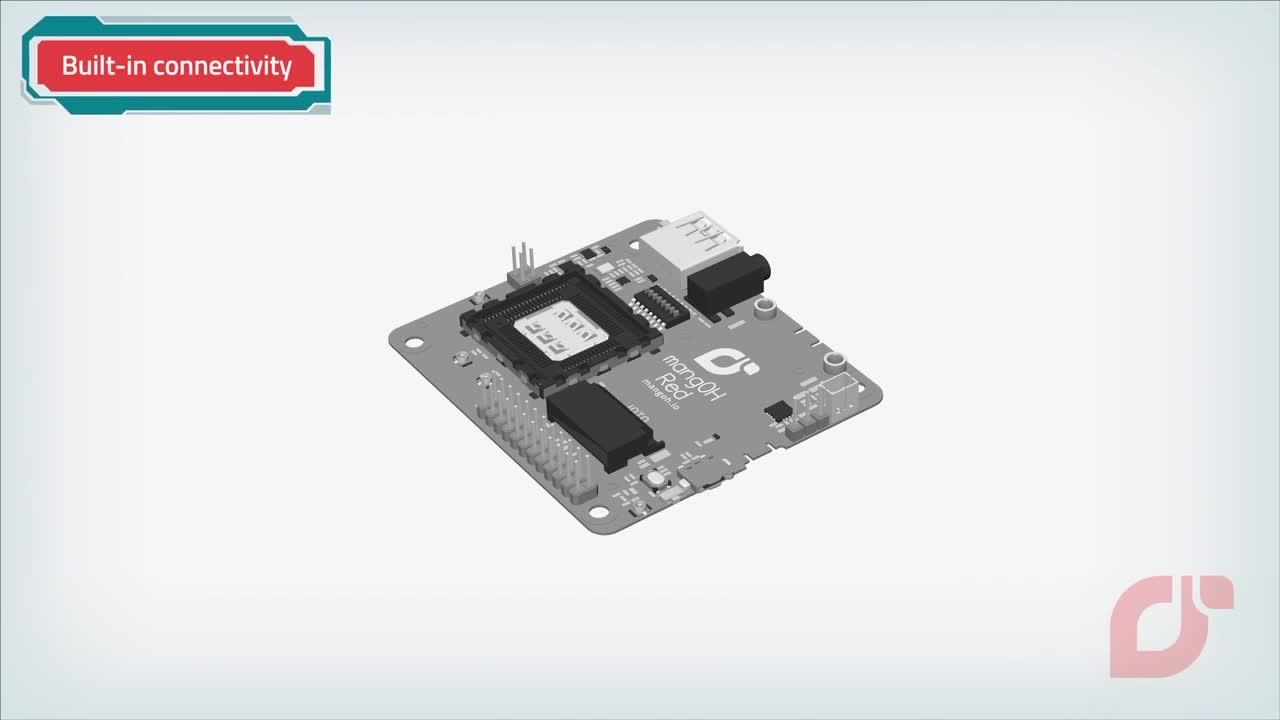 IoT open source hardware platform, mangOH™ Red