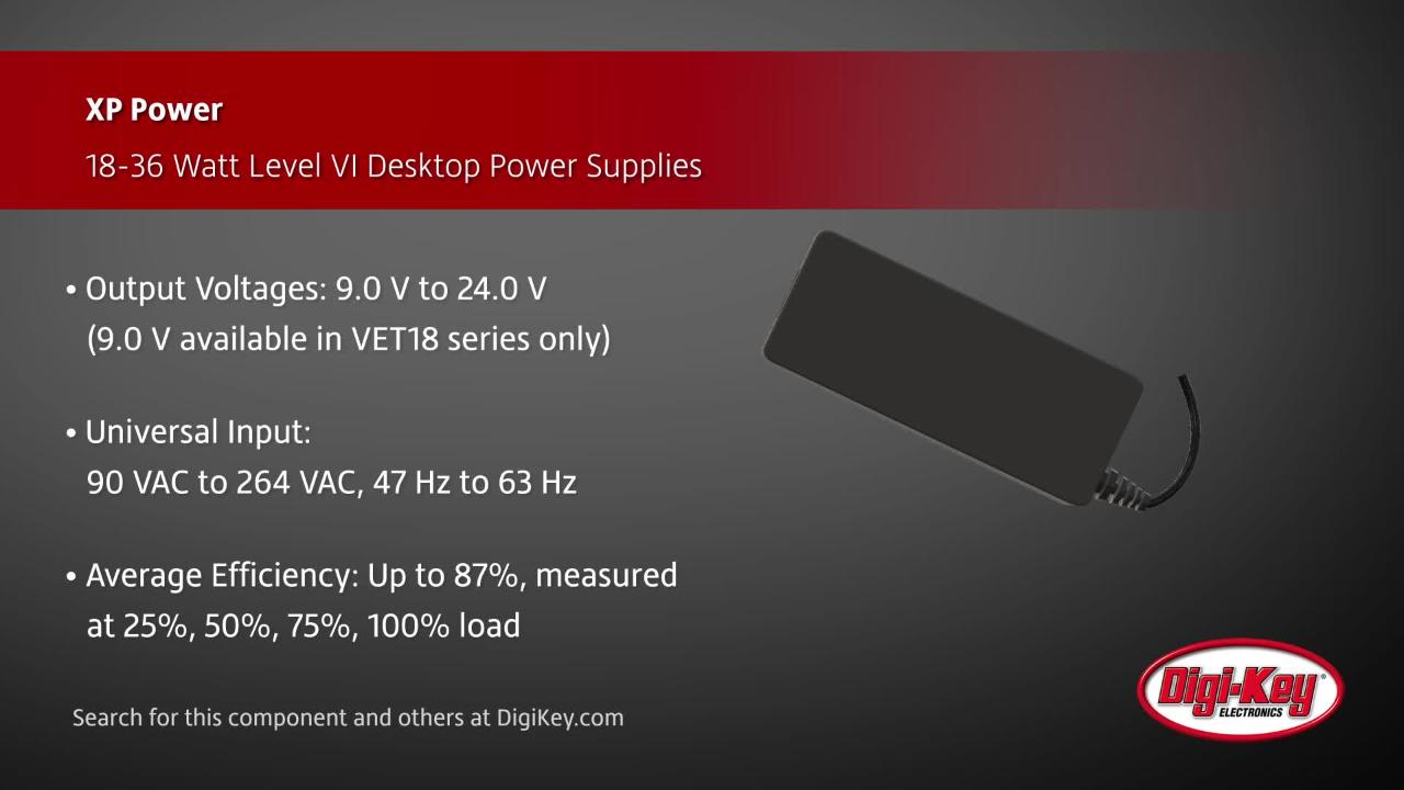 XP Power VET Series | Digi-Key Daily