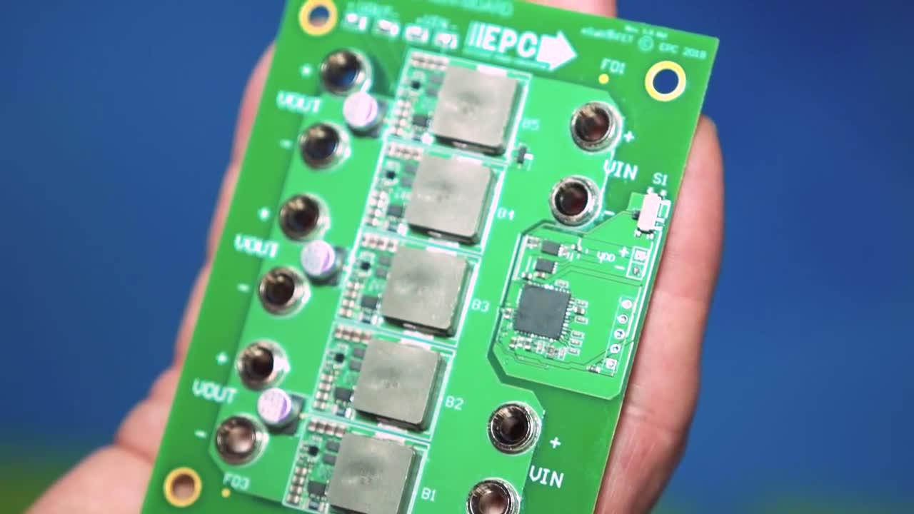Graphics-intensive applications benefit from power-dense eGaN dc/dc converters
