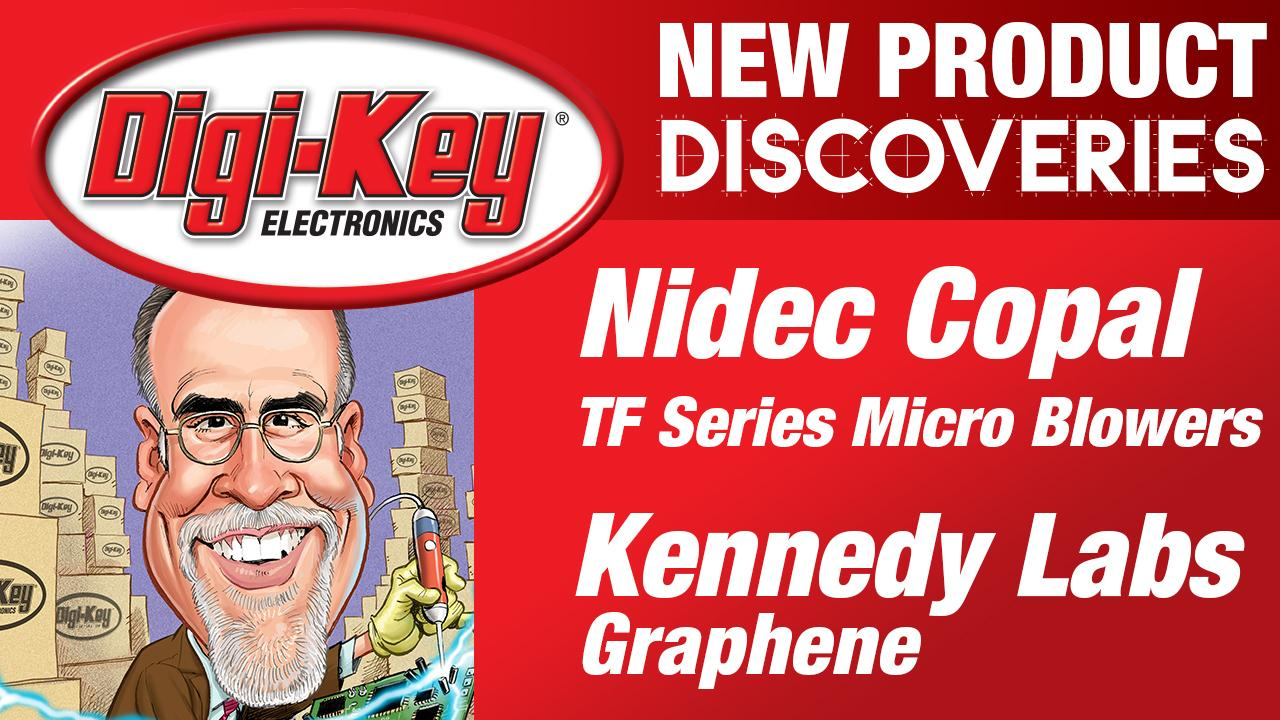 Kennedy Labs and Nidec Copal New Product Discoveries Episode 18