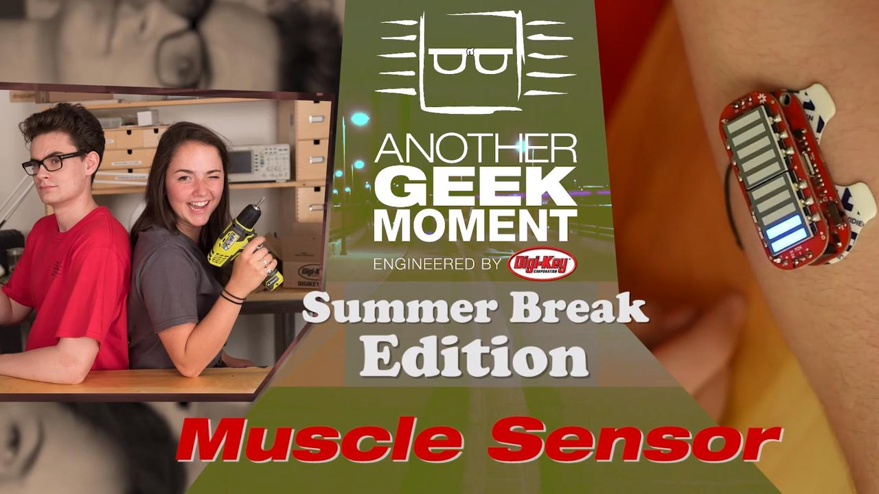 Muscle Sensor - AGM Summer Break