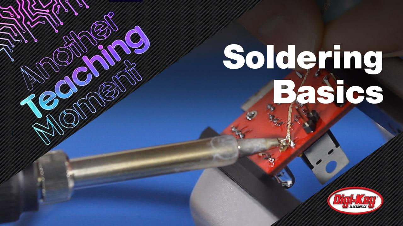 How to Solder - Another Teaching Moment