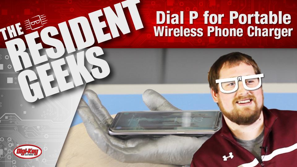 Dial 'P' for Portable Wireless Phone Charger