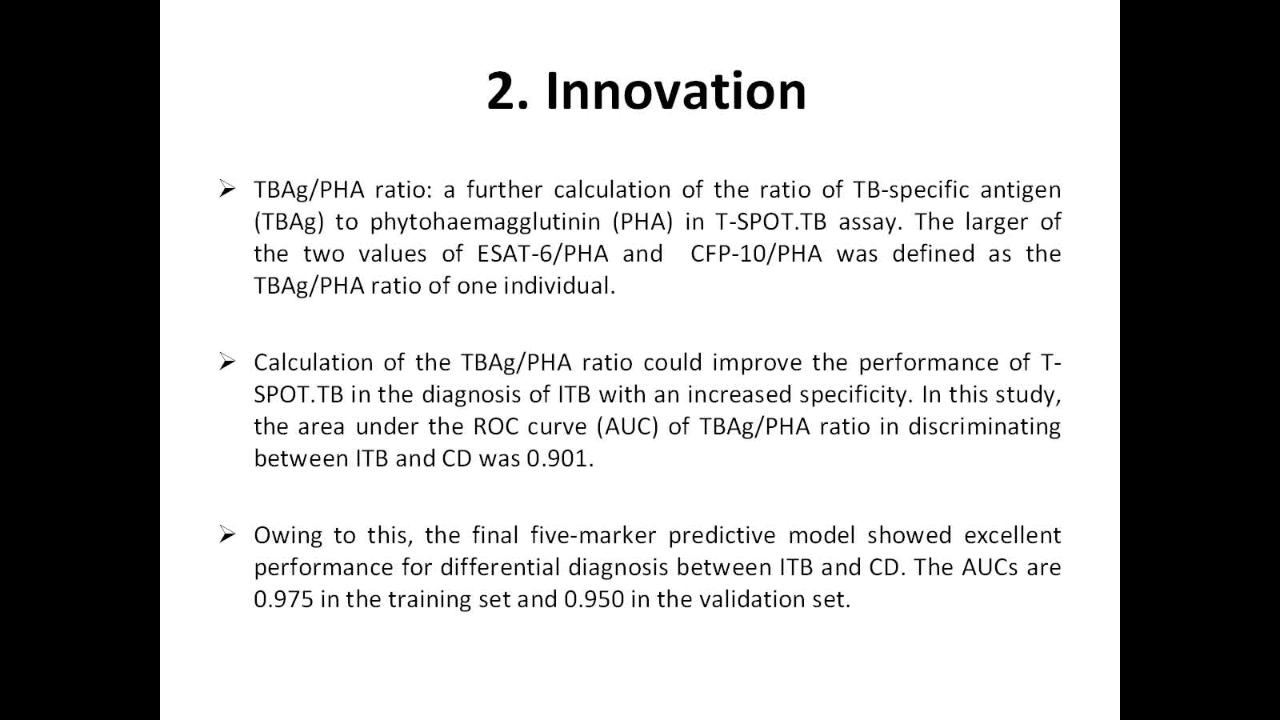Diagnostic Performance of a 5-Marker Predictive Model for
